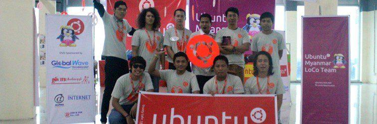 Ubuntu Global Jam – Myanmar LoCo Team